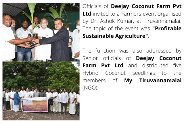 Farmers event at Tiruvannamalai